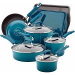 HOT! 12-Piece Rachael Ray Cookware Sets On Clearance For $30.00 At Walmart!