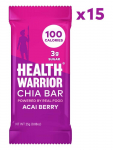 LIMITED TIME DEAL!!! HEALTH WARRIOR Chia Bars, Acai Berry $10.74 (REG $25.00)