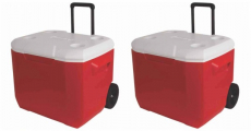 60-Quart Coleman Wheeled Cooler Just $34.99!