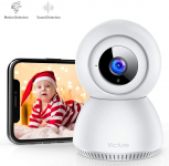 LIGHTNING DEAL!!! Victure 1080P FHD Baby Monitor with 2.4G WiFi Wireless IP Home Security Camera$20.39 (REG $39.99)