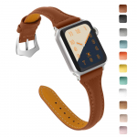 Top Grain Leather Band Replacement Strap for iWatch $10.95 (REG $21.99)