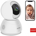 Peteme Baby Monitor 1080P FHD Home WiFi Security Camera Sound/Motion Detection $39.99 (REG $69.99)