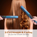 Flat Iron for Hair, Hair Straighteners with Digital Display & Dual Voltage $32.99 (REG $129.99)