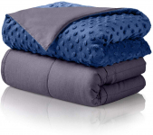 ALPHA HOME Weighted Blanket Heavy Blanket for Adults and Children-$59.99 (REG $115.99)