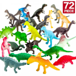 ValeforToy 72 Piece Mini Dinosaur Toy Set $9.48 (REG $19.99)
