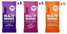 LIMITED TIME DEAL!!! Health Warrior Chia Bars, Chocolate Variety Pack $9.80 (REG $16.44)