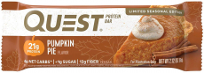 Quest Nutrition Pumpkin Pie Protein Bar, High Protein, Keto Friendly, $11.25 (REG $24.99)