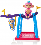 WowWee Playset Bar/Swing Playground with 2 Fingerlings Baby Monkey Toys$14.55 (REG $39.99)