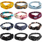 12 Pack Knotted Headbands for Women, Turban Headbands $9.99 (REG $15.99)