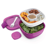 BPA-Free Lunch Container with Large 54-oz Salad Bowl $14.99 (REG $29.99)