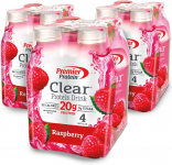 LIMITED TIME DEAL!!! Premier Protein Clear Protein Drink, Raspberry$15.39(REG $28.99)