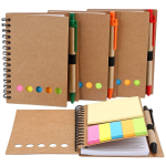 Spiral Notebook Lined Notepad with Pen in Holder and Sticky Notes $12.59 (REG $30.99)