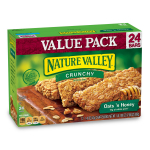Nature Valley Granola Bars, Crunchy, Oats and Honey $22.50 (REG $35.40)
