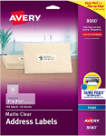 Avery Frosted Address Labels with Matte Finish $14.19 (REG $33.31)