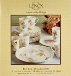 Lenox Butterfly Meadow 18-Piece Dinnerware Set, Service for 6 $99.99 (REG $390.00)