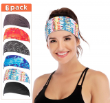 IUGA Yoga Headband for Women, Non-Slip Sweabands for Workout $12.95 (REG $25.99)