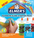Elmer's Rainbow Slime Starter Kit w/ Green, Blue and Red Glitter Glue $4.99 (REG $13.99)