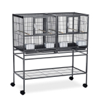 Prevue Pet Products Hampton Deluxe Divided Breeder Cage System with Stand $123.67 (REG $309.99)