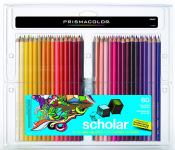 Prismacolor 92808HT Scholar Colored Pencils, 60-Count $23.25 (REG $44.65)