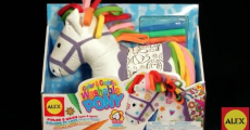 Best Price! ALEX Toys Craft, Color, & Cuddle Washable Pony Only $8.00!!!