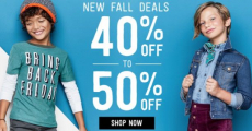 HUGE Savings On Fall Outfits From Crazy 8!