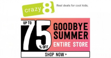 Super Sales At Crazy With Up To 75% Off!