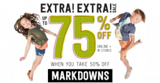 HOT! Save Up To 75% Off Kids' Clothing At Crazy8!!!
