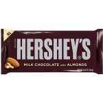 Hershey's chocolate bars on sale for 50¢ each!