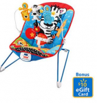 Fisher-Price Adorable Animals Bouncer + Bonus $10 Gift Card for Just $26.98