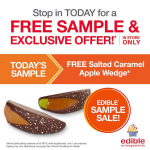 New! FREE Salted Caramel Apple Wedge At Edible Arrangements!