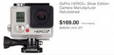 Get This GoPro HERO3+ Silver Edition Camera Only $169.99! Normally $239.99!