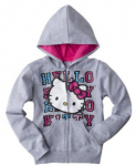 Target Daily Deal: Girls' Hello Kitty Hoodies Just $10 Shipped (reg. $16.99)