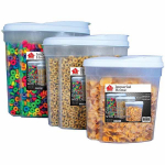 Nice! Imperial 3-pc. Cereal Storage Containers with Dispenser Only $4.39! Normally $10.99!