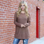 Cute Waffle Tunic only $16.99 (reg $47) – Perfect for fall weather!
