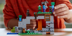 LEGO Minecraft the Zombie Cave Building Kit Only $15.99!