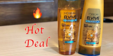 Sale on L'Oreal Elvive Shampoo & Conditioner Just $1.50/Each!