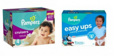 Pampers Jumbo Pack Diapers AND Easy Ups Only $5.50/Each!