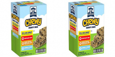 Quaker Chewy Granola Bars 25% Less Sugar 58-Count Pack Only $7.10 Shipped!