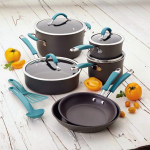 Rachael Ray Cucina 12-Piece Cookware Set Only $33.99! (Reg $270)
