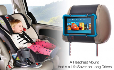 TFY Car Headrest Mount Holder for All Kindle Fire $14.50 (REG $35.00)