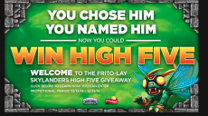 Frito-Lay Instant Win Game: Win a Skylanders High Five Character ($9.99 value)