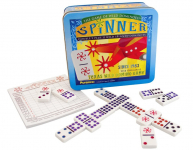 Spinner The Game of Wild Dominoes Board Game $15.99 (REG $29.99)