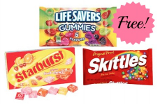 FREE Lifesavers, Starburst Gummibursts, or Skittles at Walgreens!