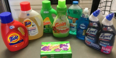Score $40.00 of Household Cleaners for JUST $15.00 with Your Phone!