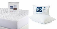 The Big One Mattress Pads & Microfiber Pillows Just $13.58/Each At Kohl's!