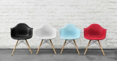 Mid-Century Style Barrel Chairs ONLY $68.99 Shipped!