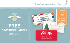 24 FREE Address Labels- First 5,000!