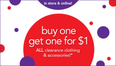 Babies R Us Clearance: Buy One Get One For $1!