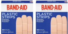Band-Aids Plastic Strips Only $0.09 at Walgreen's!