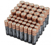 Duracell 48-Pack with 24 AA and 24 AAA Alkaline Batteries only $16.99—65% Off!